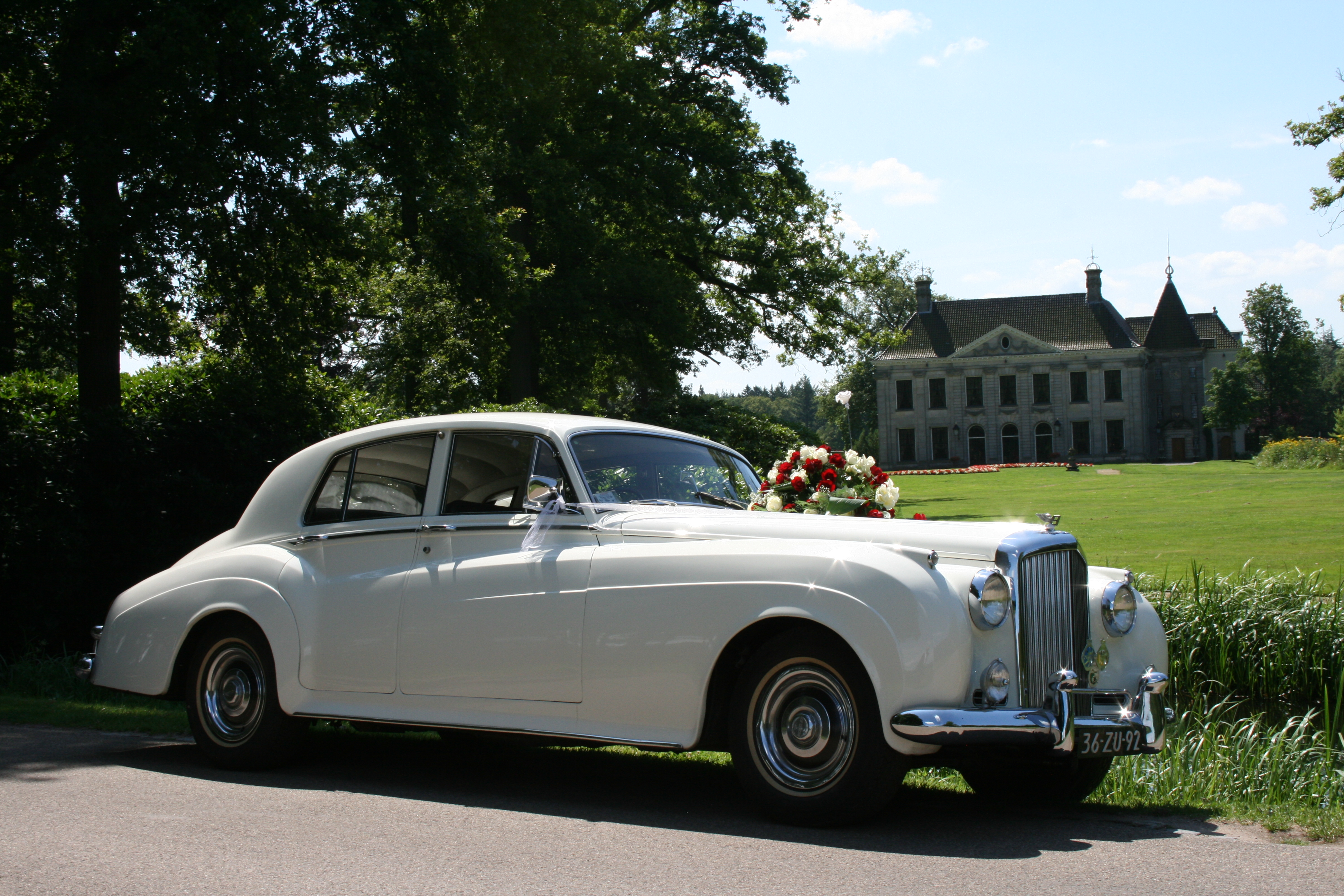 Bentley trouwauto Overijssel huren